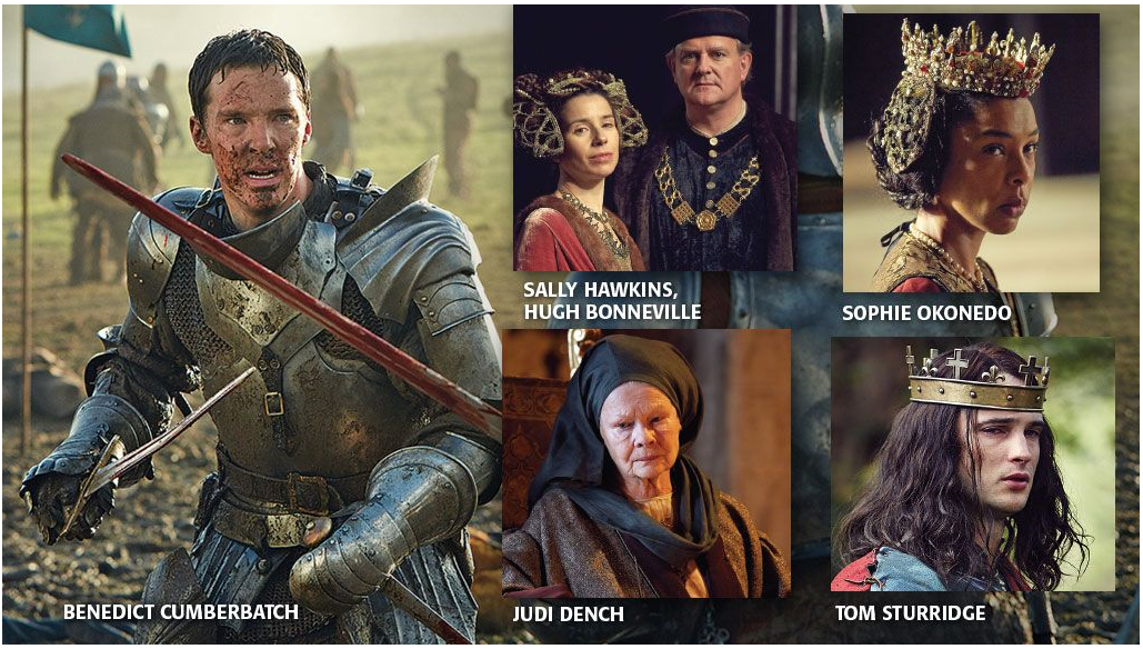 Fantastic Hollywood Spy 1St Photos From Hollow Crown War Of Roses With Short Hairstyles Gunalazisus