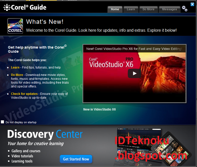 Corel Video Studio Pro X6 Simple Editing Video