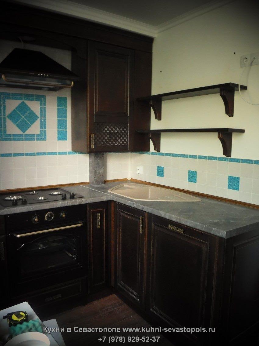Фасады для кухни из массива Севастополь