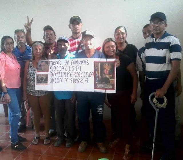 Comunas se forman para fortalecer la lucha anti imperialista