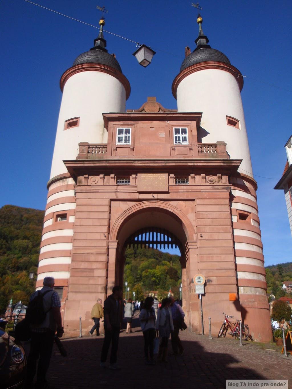 Brückentor em Heidelberg