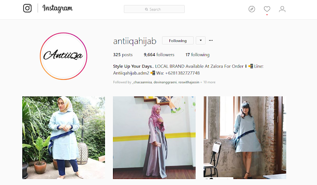 Antiiqa Instagram