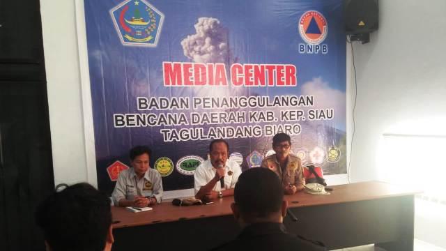Kepala PVMBG Kementrian ESDM, Sambangi Sitaro