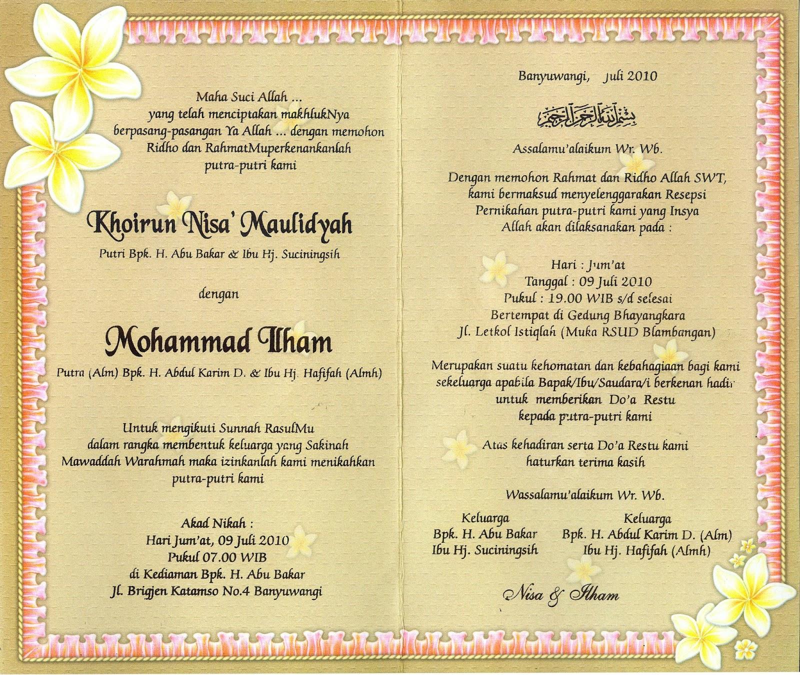 48++ Contoh surat undangan aqiqah bahasa sunda terbaru yang baik dan benar