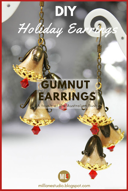 Aussie Gumnut Earrings pinspiration sheet