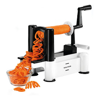 OFFER CHEAPEST Salter Moods Spiralizer Premium Multi-Purpose Fruit & Vegetable £9.99