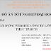 SLIDE Thuyết trình - Xây dựng website công ty lương thực TP.HCM