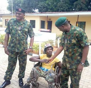 JAILED, Demoted; 2 Soldiers Who Tortured Cripple In Onitsha