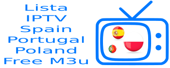 Lista IPTV Spain Movistar Polsat TVN Portugal SIC