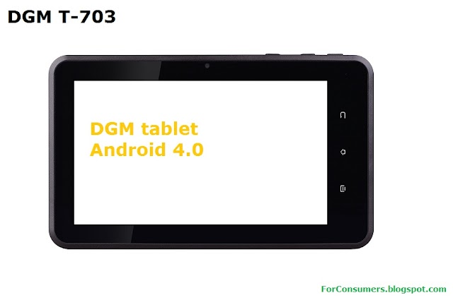 DGM T-703 7-inch Android tablet
