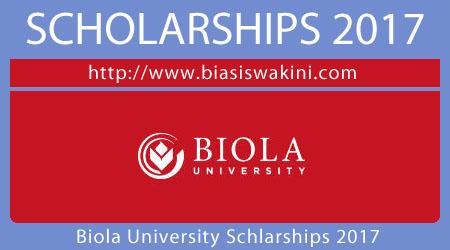 Biola University Scholarships 2017