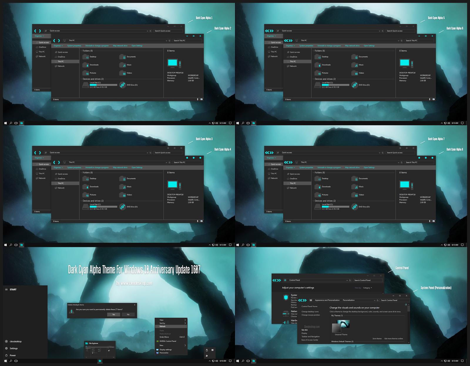 windows 10 premium themes