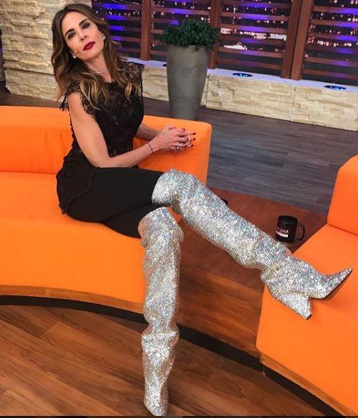 Luciana Gimenez bota
