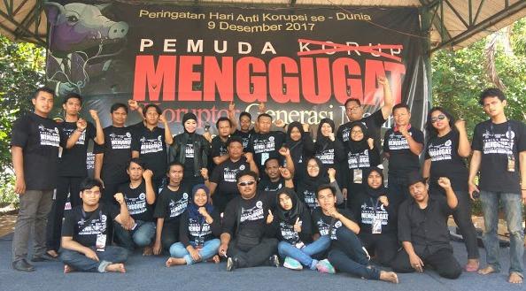 """Infokom, LP3K-RI Dan Media Patner Menggelar Event """"Pemuda Menggugat Koruptor Generasi Mecin"""""""