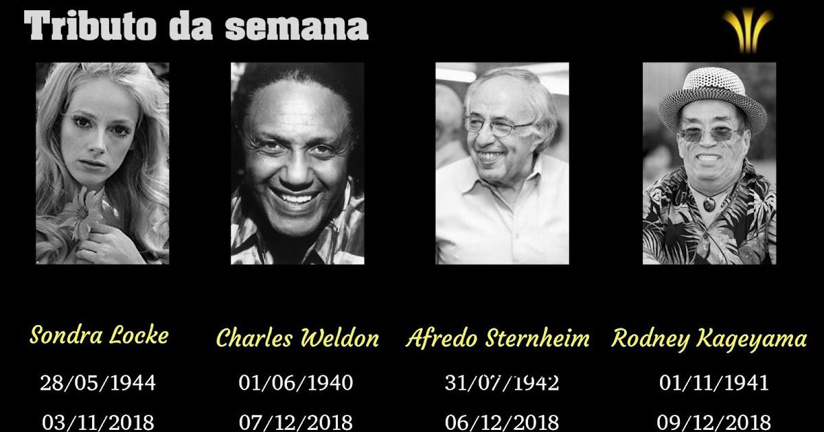 Tem Na Web - MORREM SONDRA LOCKE, CHARLES WELDON, ALFREDO STERNHEIM E RODNEY KAGEYAMA
