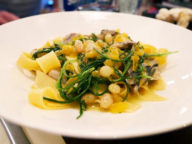 Cin Cin Brighton pasta with sardines and raisins