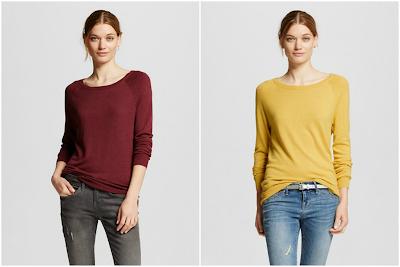 Mossimo Luxe Crew Neck Sweater $18