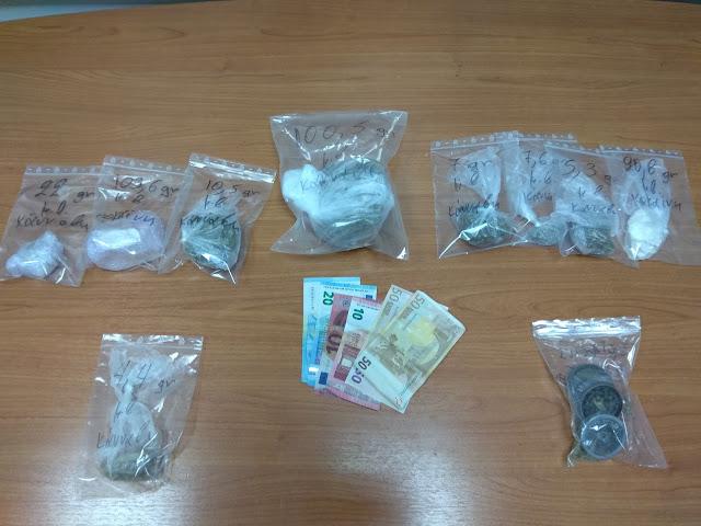 Αγρίνιο :Πέταξαν τα ναρκωτικά από το αυτοκίνητο αλλά δεν γλίτωσαν ...