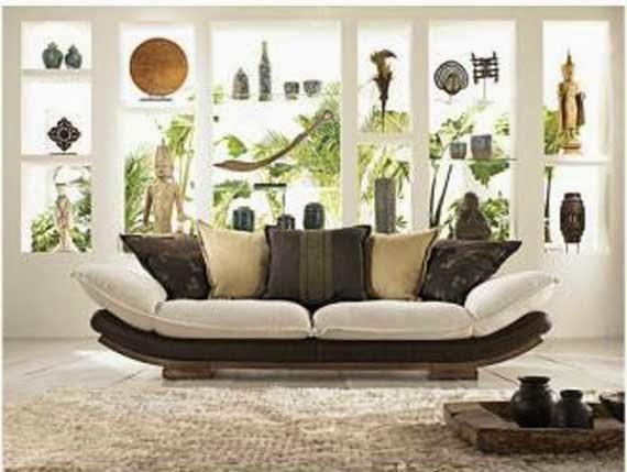 sofá oriental