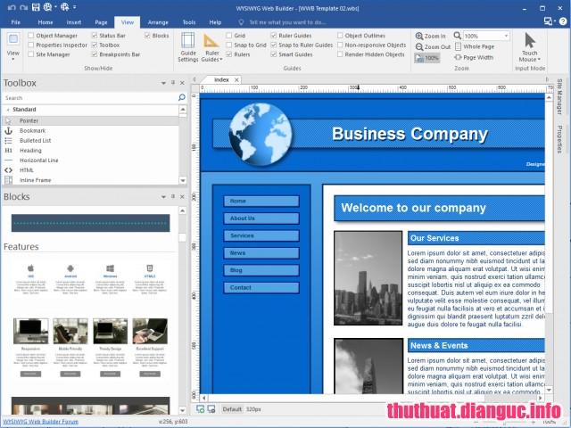 Download WYSIWYG Web Builder 14.2.2 Full Cr@ck – Phần mềm phát triển website
