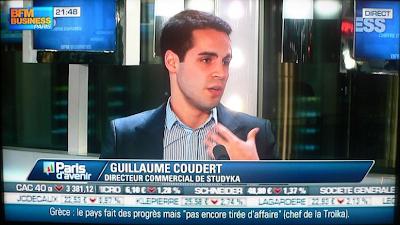 Guillaume Coudert BFM Business