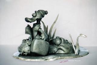 "pierre rouzier_ ""the tourist"" - maquette"
