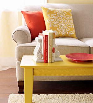 Color Combination Orange Yellow Beige White