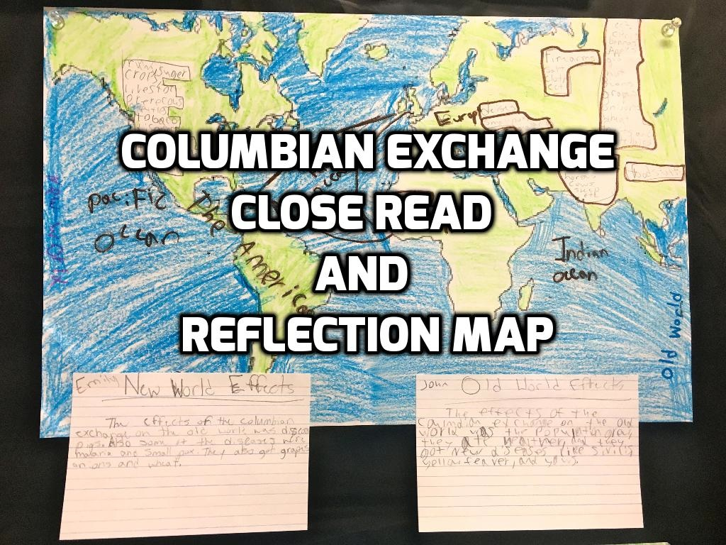 columbian exchange cause and effect Shadow and lighting effects atlantic slave trade and the columbian exchange - atlantic slave trade and the columbian exchange causes of slave trade existed.