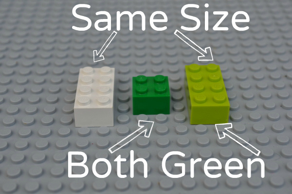 Math Activities for Preschoolers: Learning With Legos - Matching Game
