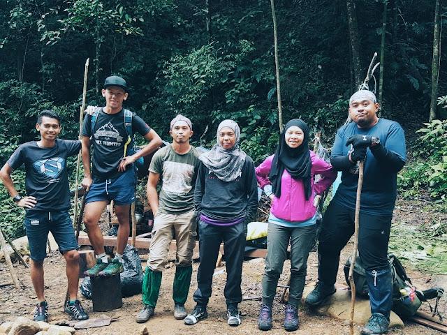 Mendaki gunung Tambuyukon Part 5 akhir