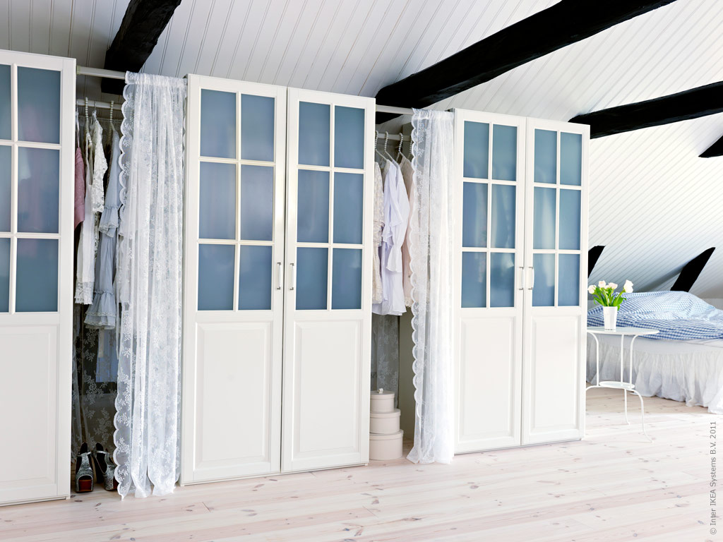 Adventurous Design Quest: Romantic Lace Curtains In The