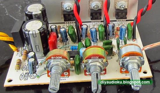DIY Audio Elektronika: Kit 2 1 Sistem Yang Jernih dan Mantap