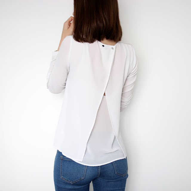 perfect white blouse daily outfits