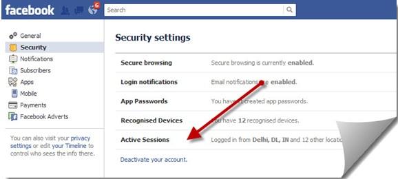 Rejoin facebook after deactivating