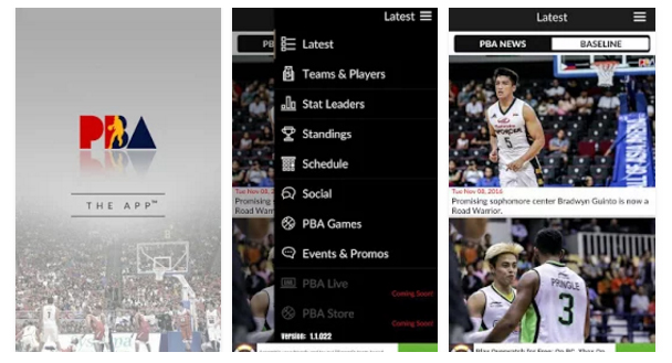 PBA Official Mobile App: Download now on iOS and Android!