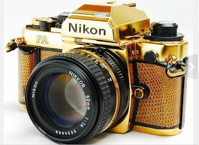Kamera Nikon FA Gold, Kamera Paling Mewah