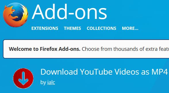 download mp4 from youtube firefox