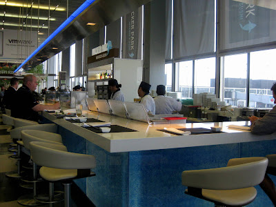Wicker Park Seafood & Sushi Bar at O'Hare International Airport (ORD) in Chicago, IL - Photo by Michelle Judd of Taste As You Go