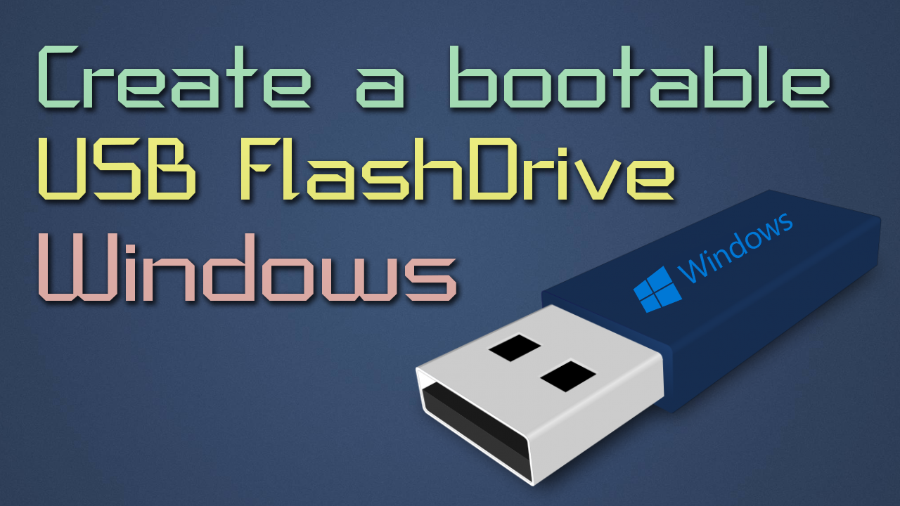 windows xp how to create bootable usb