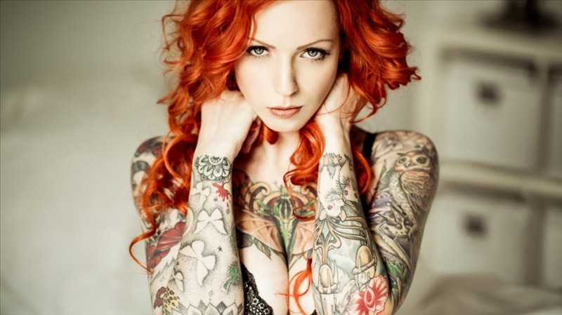 sexy girls with tattoos 9