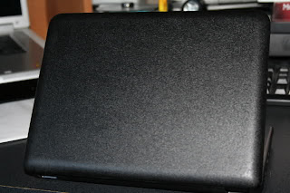 Laptop painted with bedliner