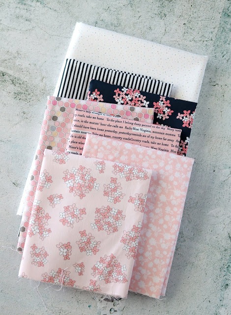 Country Roads fabric tour - Poppie Cotton fabrics - found on A Bright Corner.  You should see what she made with this bundle!