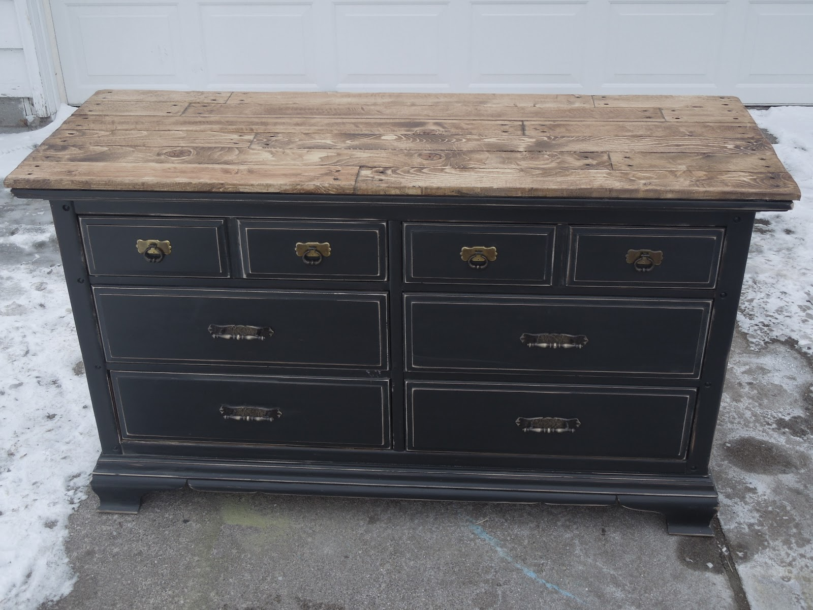 Tattered Lantern: Black dresser $299.00 (Sold) Will ...