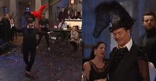 Ο Λάκης Γαβαλάς χόρεψε βαρύ μάγκικο ζεϊμπέκικο στο «Στην Υγειά μας ρε Παιδιά» φορώντας καπέλο – άλογο