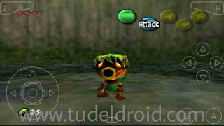 Zelda Berubah Jadi Wujud Deku