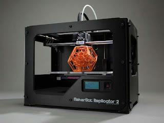 Inovasi Terbaru, Printer yang mencetak objek yang berbentuk 3 dimensi