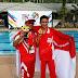 M Naufal Mahardika penembak indonesia sukses meraih medali emas pada SEA Games