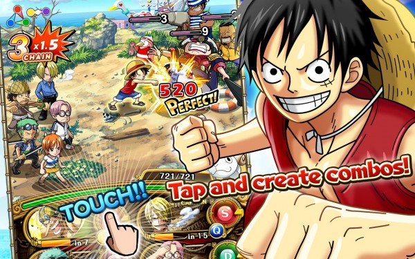 One Piece Treasure Cruise Mod Apk v5.0.1 God Mod/Massive Attack Terbaru