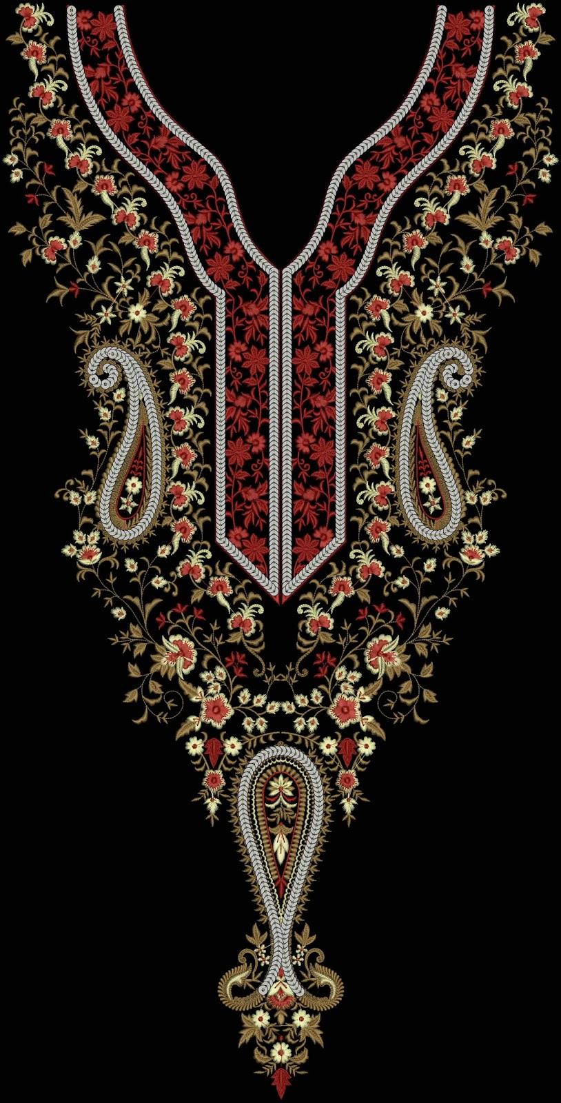 Pakistan Embroidery Machine Design