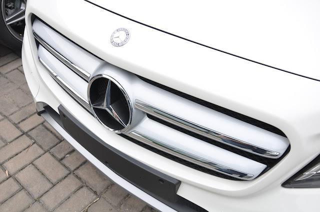 La zăng Mercedes GLA 250 4MATIC thiết kế đầy uy lực